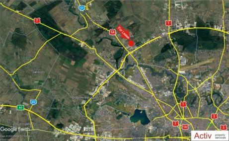 LOGICOR Bucuresti I - inchiriere spatiu depozitare Bucuresti nord vedere localizare google