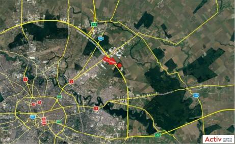 LOGICOR Bucuresti II - spatiu depozitare Bucuresti nord-est localizare google