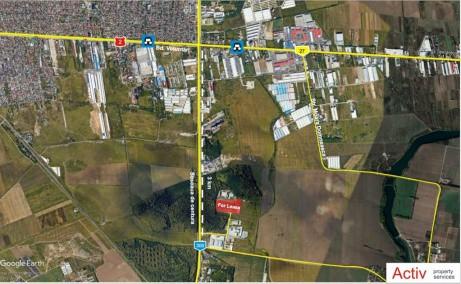 LOGICOR Bucuresti II - spatiu depozitare Bucuresti nord-est localizare harta Bucuresti