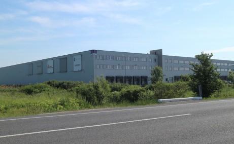 LOGICOR Timisoara inchiriere spatii depozitare si productie  Timisoara nord-est vedere laterala dreapta