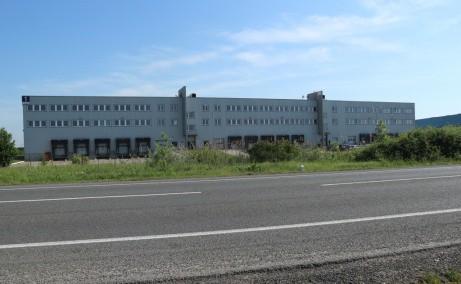 LOGICOR Timisoara  inchiriere spatii depozitare si productie  Timisoara nord-est vedere fatada