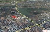 LIFTCON Magurele spatiu depozitare de vanzare Bucuresti sud localizare harta imagine detaliu