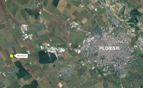 WDP Ploiesti spatii depozitare si productie Ploiesti vest localizare harta