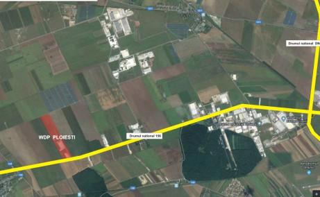 WDP Ploiesti spatii depozitare si productie Ploiesti vest vedere satelit