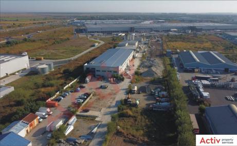 Industrial warehouse Stefanesti