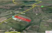 Global Logistics Timisoara 2 inchiriere spatiu depozitare si productie Timisoara nord-est vedere satelit