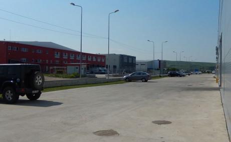 Nervia Industrial Park inchirieri parcuri industriale Cluj-Napoca est gard imprejmuire incinta