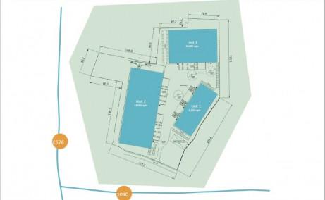 Olympian Park Cluj-Napoca inchirieri hale Cluj nord-est plan