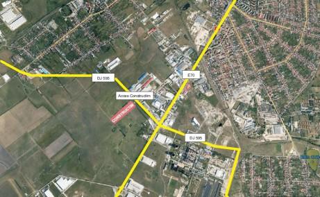 Hala Constructim Timisoara  inchiriere spatiu depozitare Timisoara  sud localizare google map