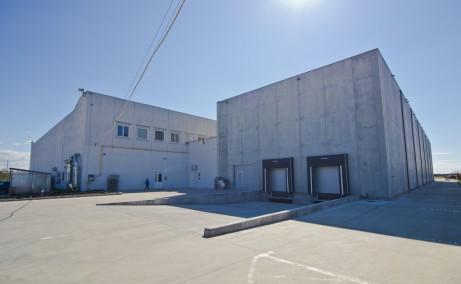 Hala Industriala Utvin inchirieri proprietati industriale Timisoara sud-vest vedere fatada