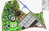 Atrium Park inchirieri hale Cluj sud-vest plan cadastral
