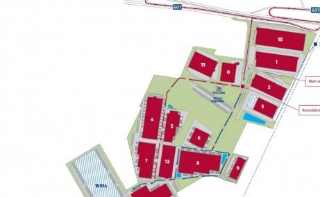 P3 Logistics Park - spatiu de depozitare  Bucuresti vest schita proprietate