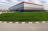 Inchiriere spatiu de depozitare Bucuresti vest, P3 Logistic Park, vedere laterala cladire